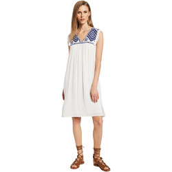 Textil Mulher Vestidos curtos Gaudi 011BD15007 Bege