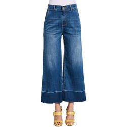 Textil Mulher Calças de ganga bootcut Gaudi 011BD26030 Azul