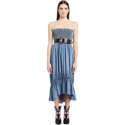 Textil Mulher Vestidos compridos Denny Rose 011ND16002 Azul