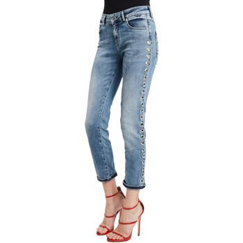 Textil Mulher Calças de ganga slim Denny Rose 011ND26009 Azul