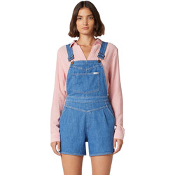 Textil Mulher Macacões/ Jardineiras Wrangler W22FJS72L Azul