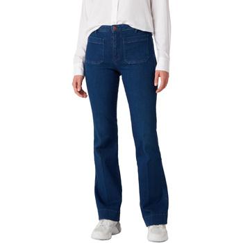 Textil Mulher Calças de ganga Wrangler W233JN69F Azul
