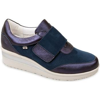 Sapatos Mulher Slip on Valleverde V20370 Azul