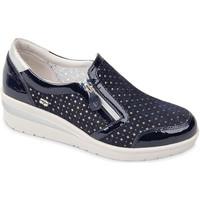 Sapatos Mulher Slip on Valleverde 18152 Azul