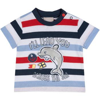 Textil Criança T-Shirt mangas curtas Chicco 09006876000000 Azul