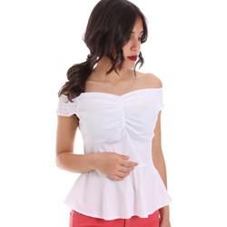 Textil Mulher Tops / Blusas Gaudi 011FD45054 Branco