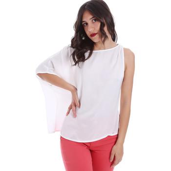 Textil Mulher Tops / Blusas Gaudi 011FD45057 Branco