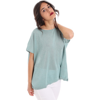Textil Mulher Tops / Blusas Gaudi 011FD53011 Azul