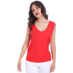 Textil Mulher Tops / Blusas Gaudi 011FD64008 Vermelho