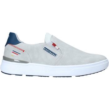 Sapatos Homem Slip on Navigare NAM018312 Cinzento