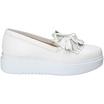 Sapatos Mulher Slip on Exton E01 Branco