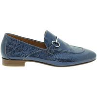 Sapatos Mulher Mocassins Mally 6105 Azul