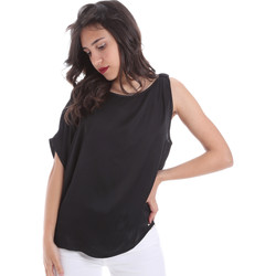 Textil Mulher Tops / Blusas Gaudi 011FD45057 Preto