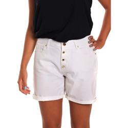 Textil Mulher Shorts / Bermudas Gaudi 811BD25015 Branco
