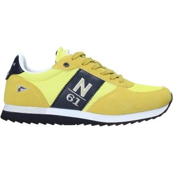 Sapatos Homem Sapatilhas Navigare NAM013550 Amarelo