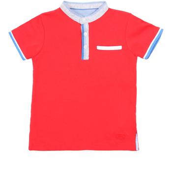 Textil Criança Polos mangas curta Losan 015-1791AL Vermelho
