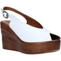 Sapatos Mulher Sandálias Bueno Shoes Q6100 Branco