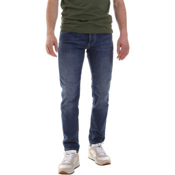 Textil Homem Calças Jeans Sseinse PJE622SS Azul