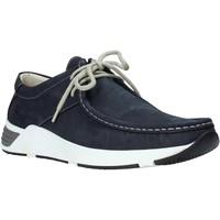 Sapatos Homem Sapato de vela Valleverde 11872 Azul