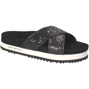 Sapatos Mulher Chinelos Fornarina PE18SA2914 Preto