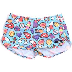 Textil Mulher Fatos e shorts de banho Rrd - Roberto Ricci Designs 18402 Azul