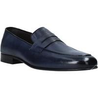 Sapatos Homem Mocassins Exton 1020 Azul