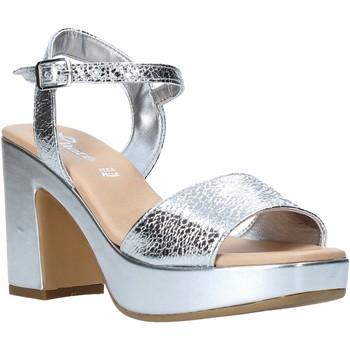 Sapatos Mulher Sandálias Grace Shoes L220 Prata
