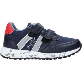 Sapatos Rapaz Sapatilhas Fred Mello S20-SFK318 Azul