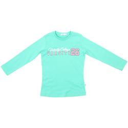 Textil Criança T-shirt mangas compridas Melby 70C5615 Verde