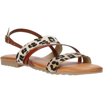 Sapatos Mulher Sandálias Jeiday JUNGLA-SALLY Castanho