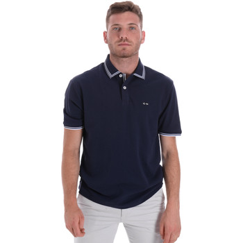 Textil Homem Polos mangas curta Les Copains 9U9020 Azul