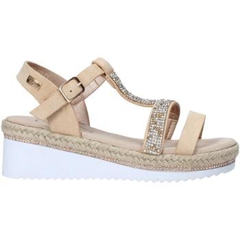 Sapatos Rapariga Sandálias Miss Sixty S20-SMS785 Ouro