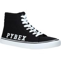 Sapatos Homem Sapatilhas de cano-alto Pyrex PY020203 Preto