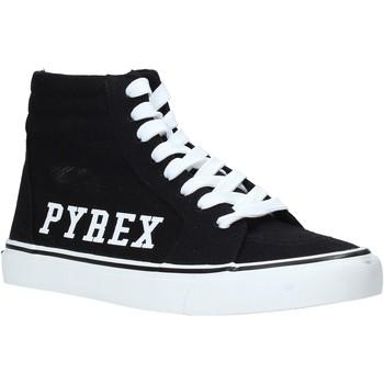Sapatos Mulher Sapatilhas de cano-alto Pyrex PY020226 Preto