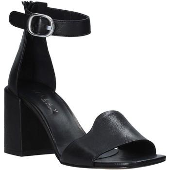 Sapatos Mulher Sandálias Mally 6866 Preto