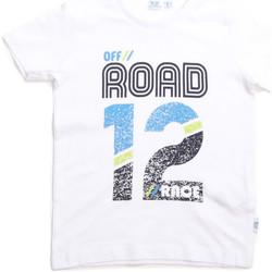 Textil Criança T-Shirt mangas curtas Melby 70E5544 Branco