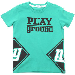 Textil Criança T-Shirt mangas curtas Melby 70E5544 Verde