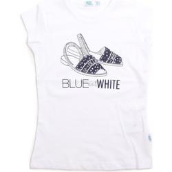 Textil Criança Tops sem mangas Melby 70E5645 Branco