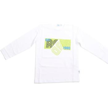 Textil Criança T-shirt mangas compridas Melby 70C5524 Branco