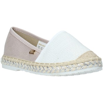 Sapatos Rapariga Alpargatas Miss Sixty S20-SMS704 Branco