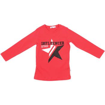 Textil Criança T-shirt mangas compridas Melby 70C5615 Vermelho