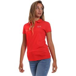 Textil Mulher Polos mangas curta Emporio Armani EA7 3HTF57 TJ29Z Vermelho