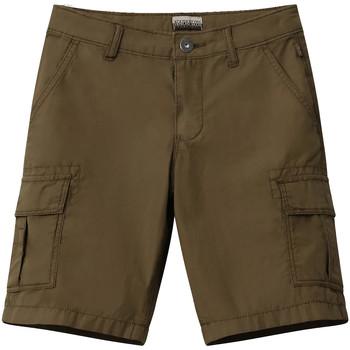 Textil Criança Shorts / Bermudas Napapijri NP0A4E4G Verde
