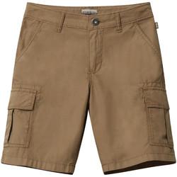 Textil Criança Shorts / Bermudas Napapijri NP0A4E4G Castanho