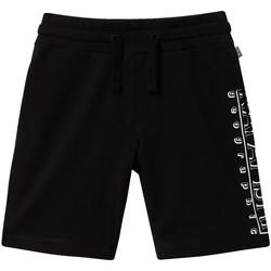 Textil Criança Shorts / Bermudas Napapijri NP0A4E4I Preto