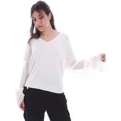 Textil Mulher Tops / Blusas Gaudi 011FD53007 Branco