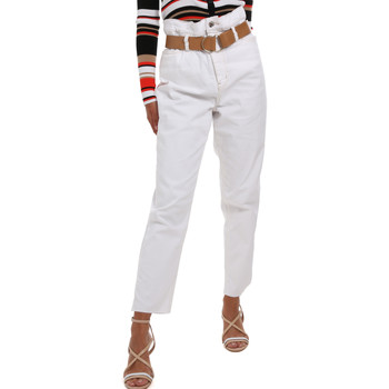 Textil Mulher Chinos Liu Jo WA0281 T6446 Branco