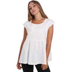 Textil Mulher Tops / Blusas NeroGiardini E062761D Branco