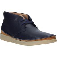 Sapatos Homem Botas baixas Clarks 26144071 Azul