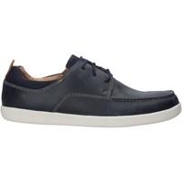 Sapatos Homem Sapatos Clarks 26141607 Azul